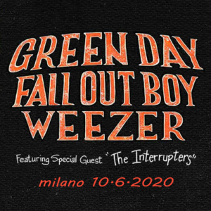 Green Day & Fall Out Boy and Weezer – 10.6.2020 – Milano – prijevoz