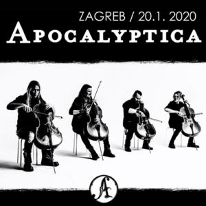 Apocalyptica – 20. 1. 2020 – Zagreb – prijevoz